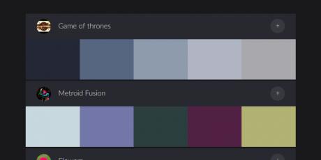 color palette generate upload photos