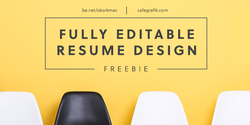 Creative Resume Template, Illustrator and PowerPoint | Bypeople