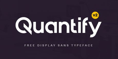 display sans typeface geometric