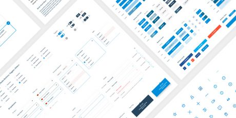 free sketch web user interface symbols styles kit