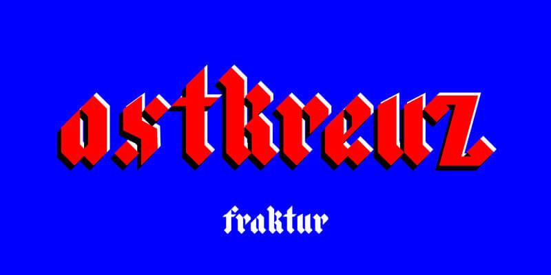 modern geometric free otf font