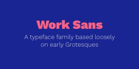 work sans font helvetica alternative