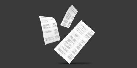 free wireframing vector kit