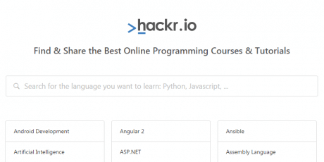 programming courses directory