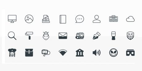 free vector icons pack