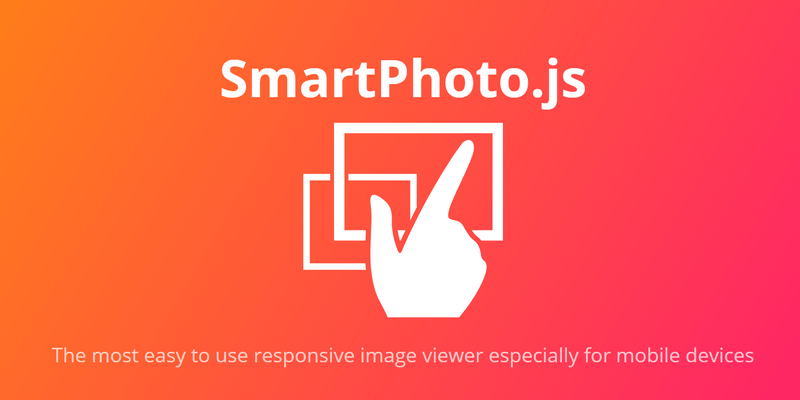 SmartPhoto js Touch Based Gallery Photo Viewer   Bypeople