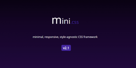 minimal footprint css framework
