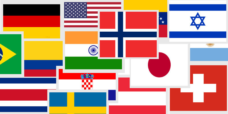 Vector Country Flags 2 S