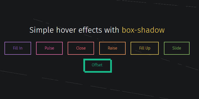 css button hover effect