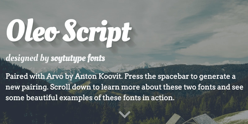 Mixfont: A Modern Online Font Pairings Generator | Bypeople