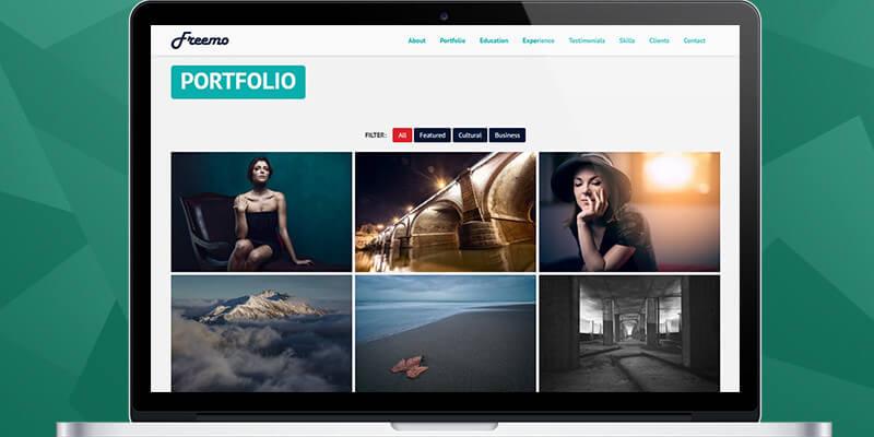 Freemo: Bootstrap Resume/Portfolio Theme | Bypeople