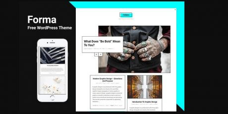 design minimal blogging magazine theme wordpress