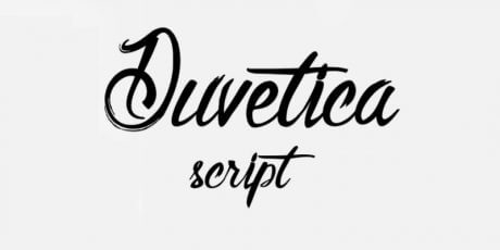 free bold script typeface