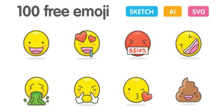 free cute emoji pack