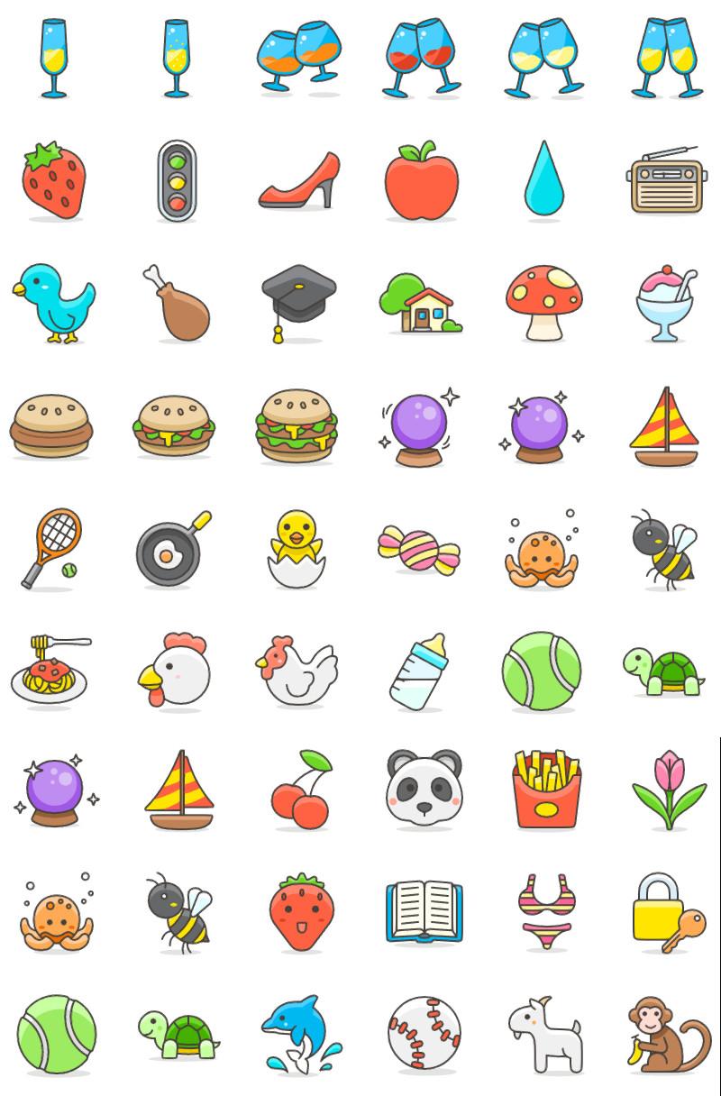Cute Emoji: 100 Free Emoji Pack - ByPeople