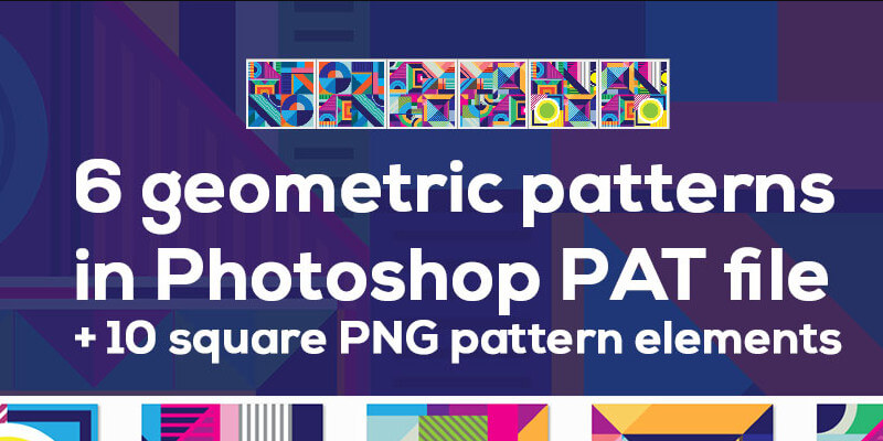 square geometric patterns free