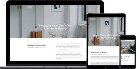 bootstrap website template fineoak