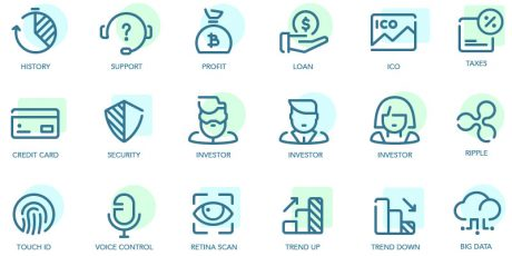finance icons pack