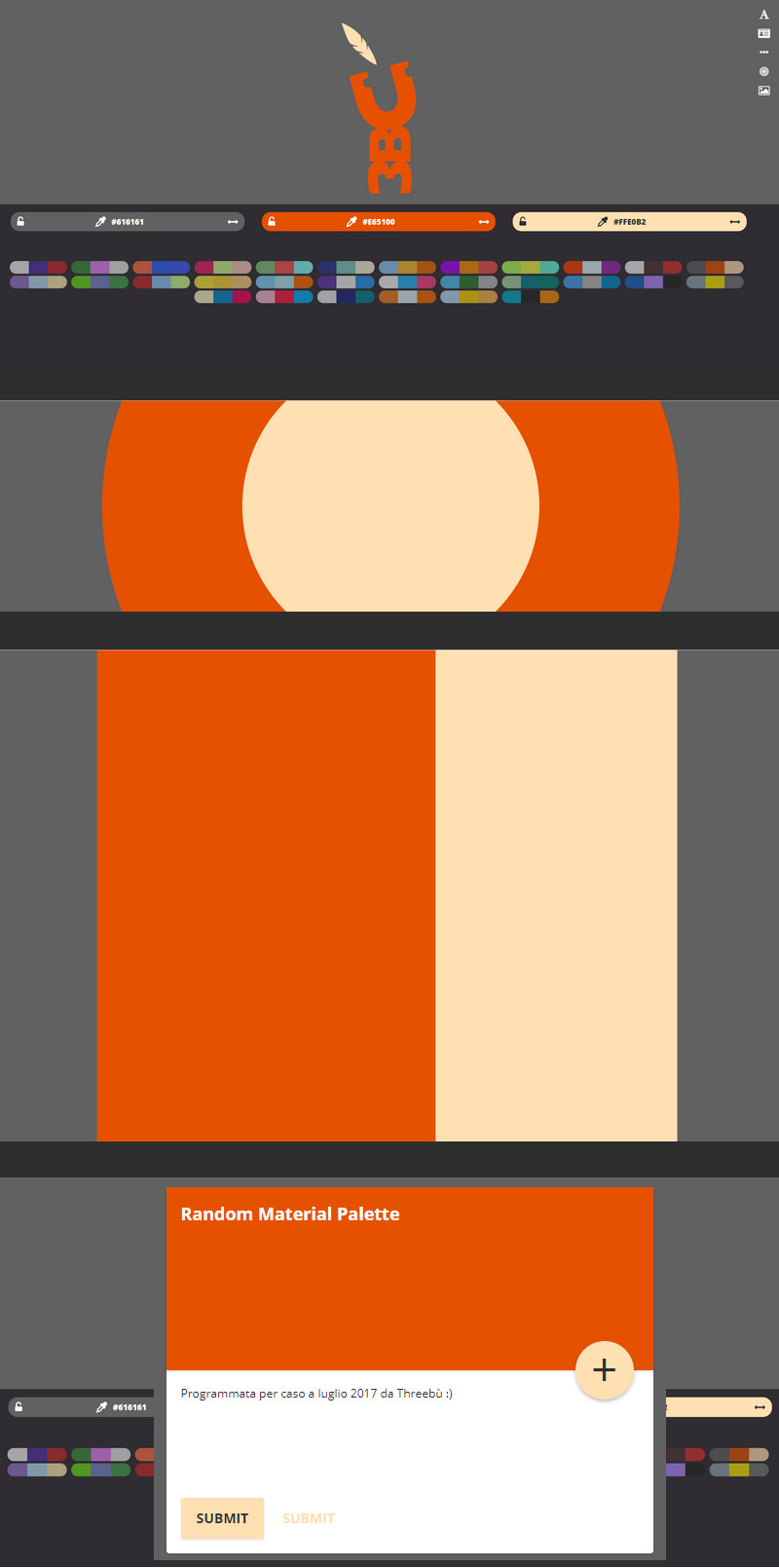 Online Material Palette Generator | Bypeople