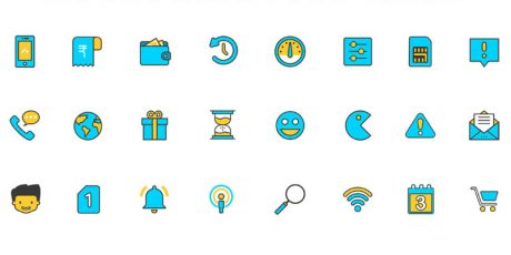modern sketch icons free