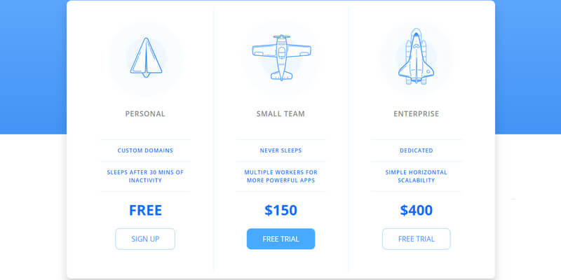 Css pricing table bypeople for Nice html table