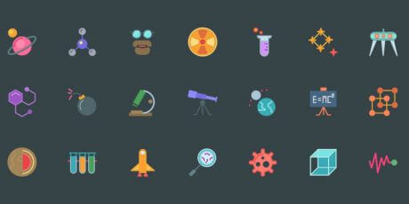 science icons free