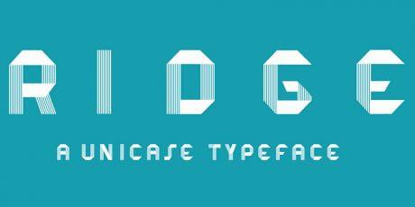 unicase futuristic font