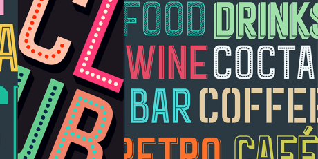 art deco inspired free font