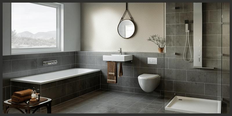 HQ Bathroom Scene Render (3DS Max, PSD)