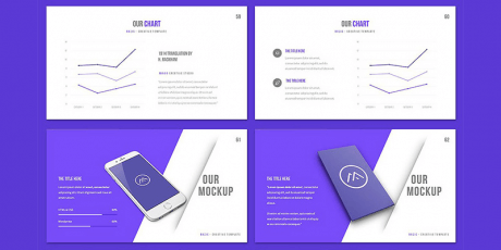 creative presentation template powerpoint keynote