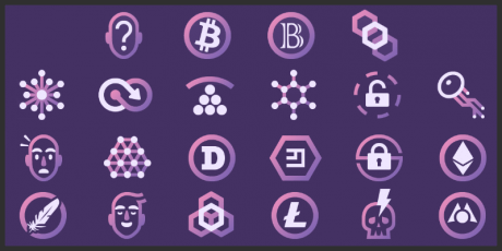 cryptocurrency icons pack
