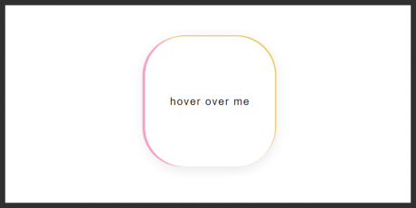 css animation hover
