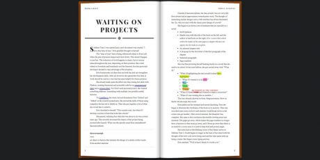 css book layout