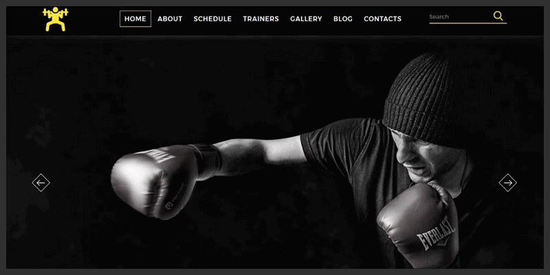 Fitness Themed Free Website Template (HTML/CSS) | Bypeople