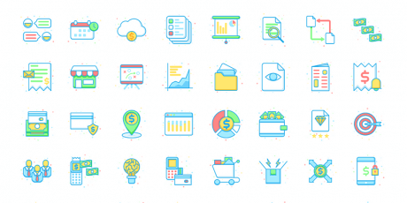 free business icons pack