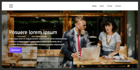 html5 business website template