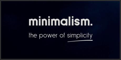 minimalist sans serif font