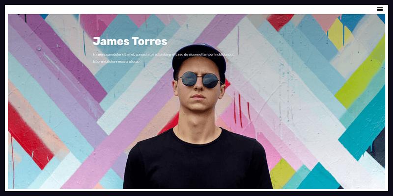 minimalistic css html5 template