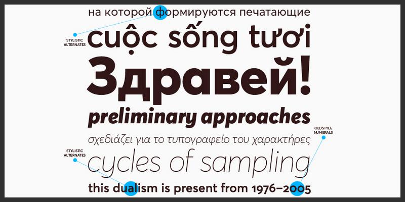 modern geometric sans serif font