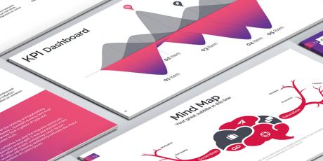 powerpoint template minimalist