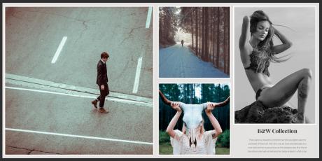 template portfolio for photographers