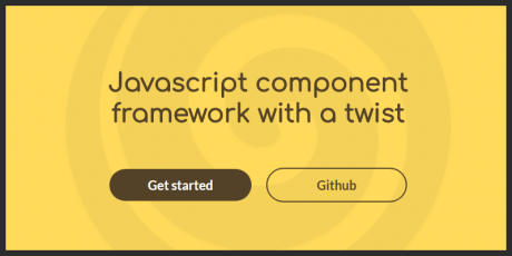 javascript component framework