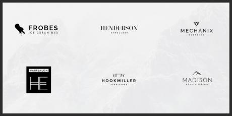 minimalistic logo free