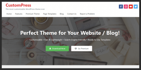 corporate wordpress theme free