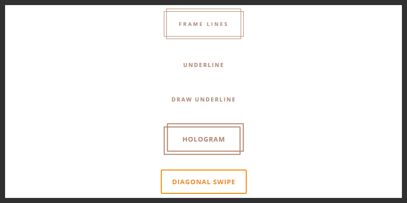 css animated button styles