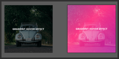 css gradient image hover