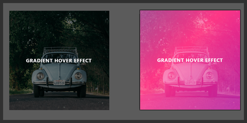 Pure CSS Gradient Image Hover Effect | Bypeople