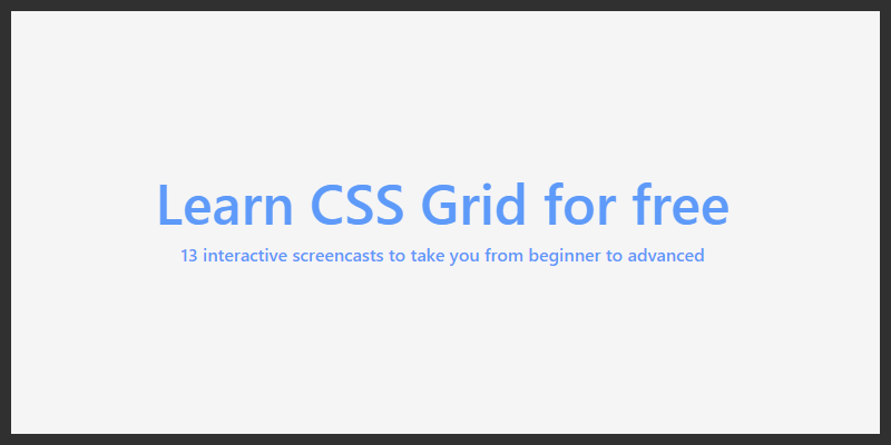 free css grid tutorials course beginners advanced