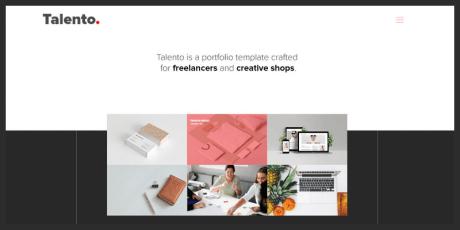 free portfolio template adobe xd