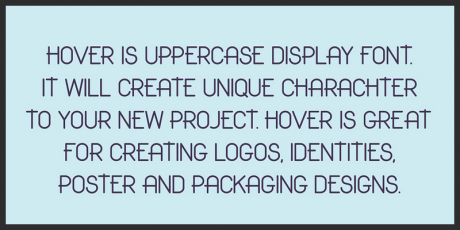 free uppercase display font